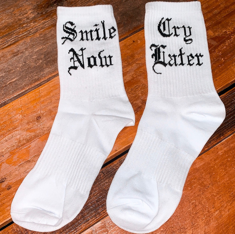 Smile For My Friends Socks PREORDER