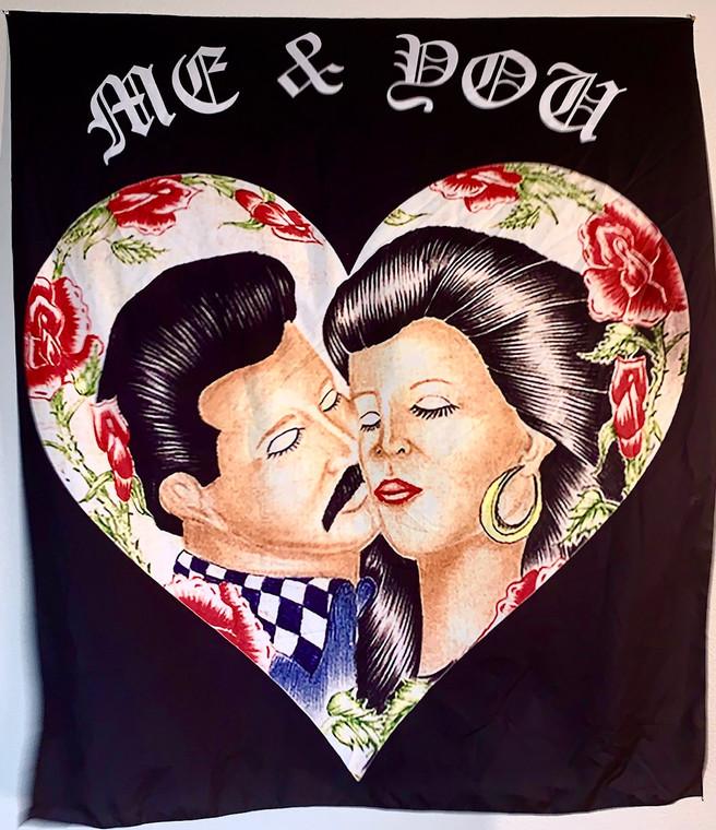Me & You Tapestry (Black)