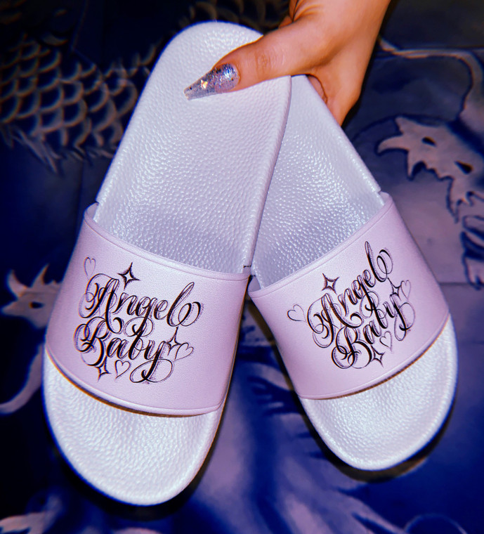 Limited Edition Angel Baby Pen & Ink Slides (GREY) PREORDER
