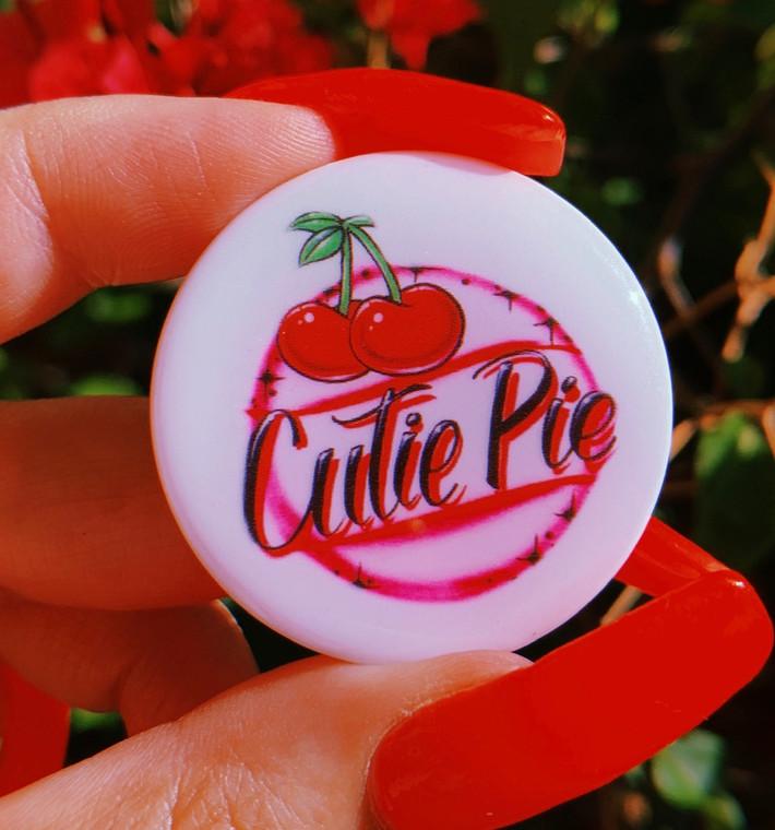 Cutie Pie Airbrush Pop Grip (Drop Glue Style) PREORDER