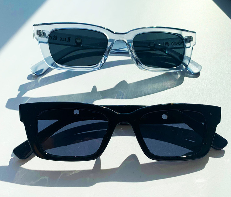 Lux Rosa Sunglasses Bundle (TWO Pairs- Smile Now Cry Later Gata Black & Sad Girl Gata) PREORDER