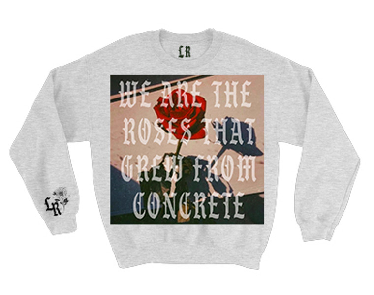 WE ARE THE ROSES Crewneck (Grey) PREORDER