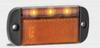 44AME - Side Marker Light with Reflector Multi-Volt 12v & 24v Single Pack. AL. Ultimate LED.