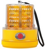 740A - Amber Safety Beacon LED Strobe Light. Battery Operated, Magnetic Mount. Peterson. Roadvision. Ultimate LED.