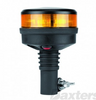 RB112PY - Low Profile, Amber Safety Rotation and Strobe Beacon. Pole Mount. RB112PY. Class 1 Certified . Roadvision. Ultimate LED.