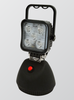 Battery Operated, Rechargeable, Magnetic Base, Flood Light. 12v or 24v DC and 240v AC Charger. White LED's