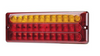 Low Profile  LED Combination Tail Light LED. Multi-Volt, 12 & 24 Volt DC Systems. New Stylish & Bright Slimline Stop, Tail & Indicator LED Light BR275ARR. Roadvision Product. Amazing Light for its size. 5 Year Warranty
