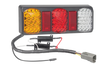 SO275GARWM2LR450+PATCH-EXTCRUISER - Tray Extension Land Cruiser LED Patch Cable System. Plug and Play. LED Upgrade. Designed for Trays. 275G Series Light. Stop, Tail, Indicator and Reverse. 12v Only. Lamp with Conversion Cable. Application to Suit Toyota Land Cruiser with Tray Extension. Autolamp. Ultimate LED.
