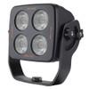 Work Light Spot Beam. 150 mm Rectangle. LED4100S. 40 Watt. Submersible Water Rating: IP68. Submersible to 3 Metres