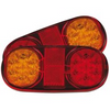 LED Tail Light Kit. Stop, Tail, Indicator with Reflector. Roadvision BR205LR.  - Ideal for trailers (PAIR) 12V DC. Submersible