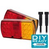 Complete LED Box Trailer, Tail Light DIY Kit. 12 Volt Suit Box Trailer 6 x 4. Its all Plug and Play