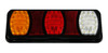 228RV. BR100ARW Compact LED Tail Light. Stop, Tail Indicator & Reverse Lamp with built-in Reflectors. Quality, Tough Light. Caravan Friendly. Multi-Volt 12 & 24 Volt Systems. B100ARW. Triple Module LED Light.  Truck, Trailer, Ute or Caravan Tail Light Assembly. Built-in Reflector. Great Quality Tail Light. Weather, Vibration and Dust Proof. Ultimate LED