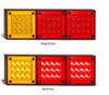280ARRM Stop, Tail & Indicator Light. Single Light Pack Multi-Volt 12v & 24v. AL. Ultimate LED.
