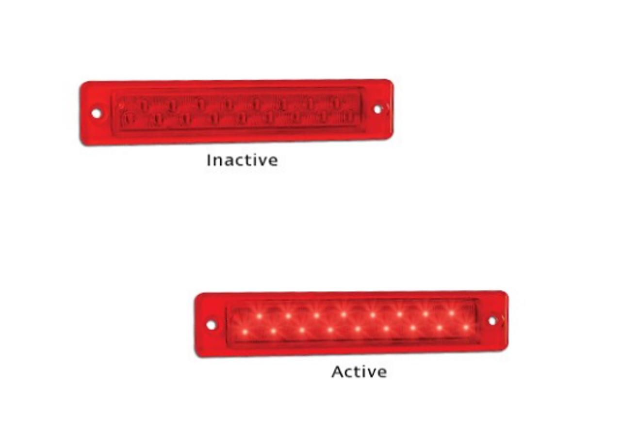 25R12   Twin Function. Stop & Tail 12v  Single Pack. AL. Ultimate LED.