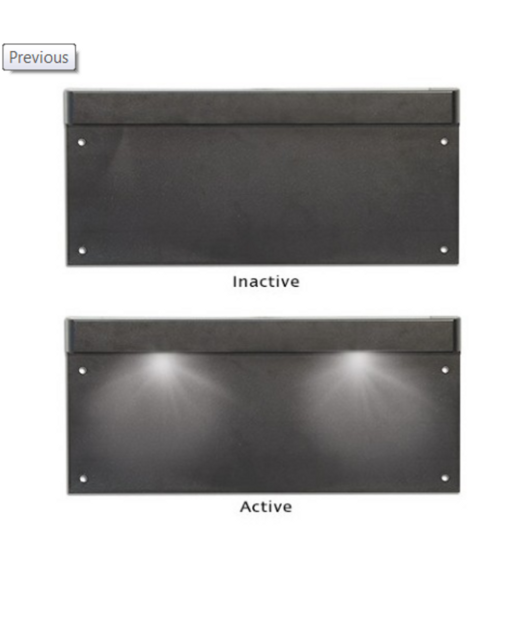 47aa2b8fdb7 LP1 - Licence Plate Lamp Light with Black Housing Single Pack. LED Auto  Lamps.