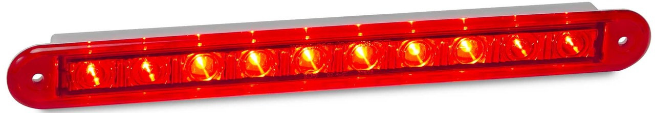 Active - 235R12 Stop / Tail 12v Single light Coloured Lens. Twin Function. AL Ultimate LED.