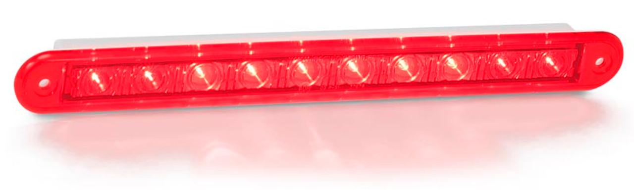 High Level Break Active - 235R12 Stop / Tail 12v Single light Coloured Lens. Twin Function. AL Ultimate LED.