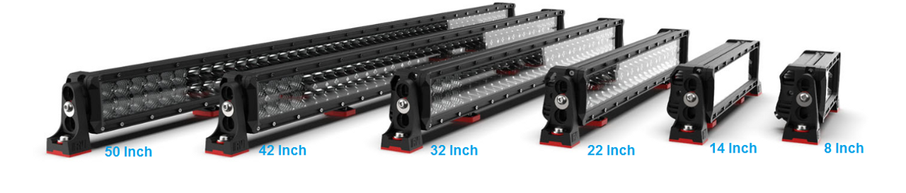 RBL5420C - DC2 Series Dual Row 42 inch Light Bar. 240 watt Osram Hi-Lux LED's. Combination Optical Beam. 9 Position Adjustable Mounting Options. RBL5420C. Premium Driving Light Bar. RoadVision. Ultimate LED.
