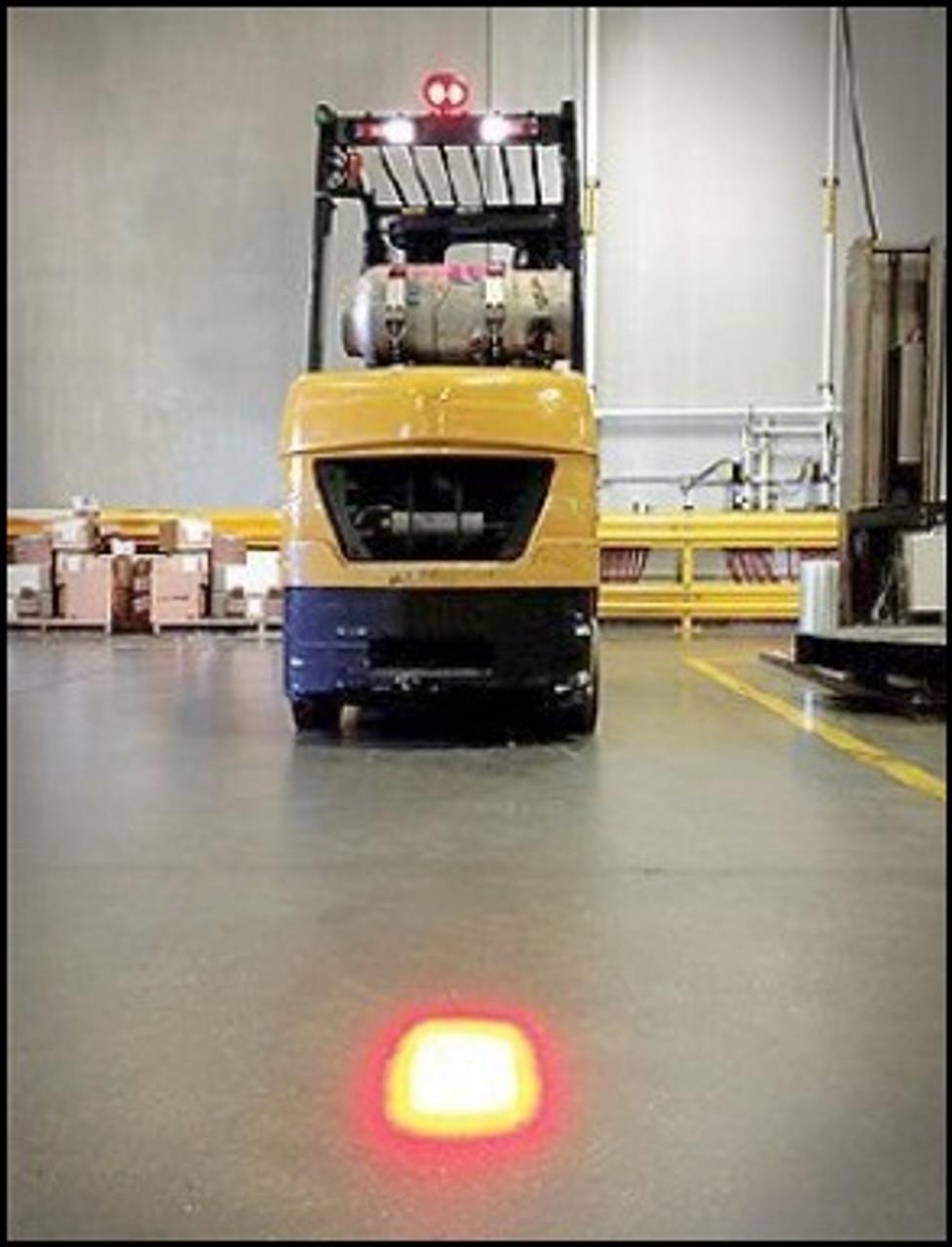 Red Forklift Safety Spot Light