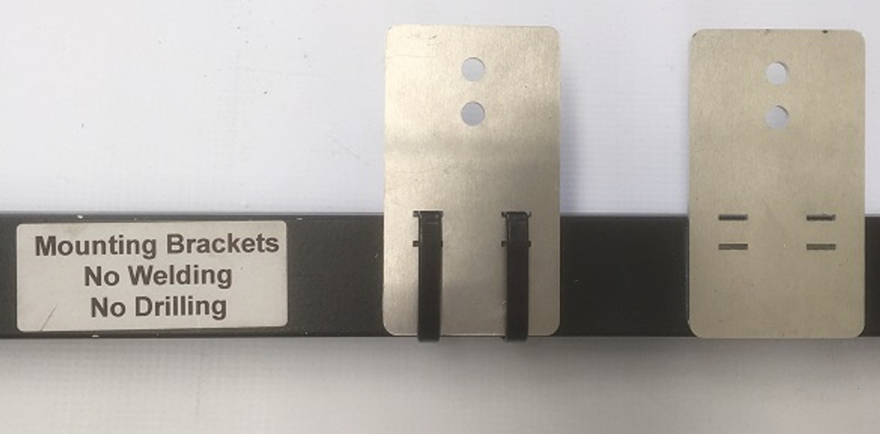 Optional Mounting Bracket Available. No Welding or Drilling.