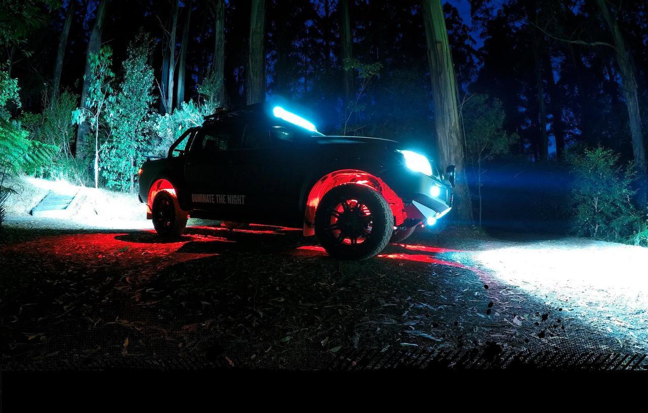 Led Rock Light Kit 4 Way With Rf Remote Control Rgb Led Kit Multi Volt 5 Year Warranty Roadvision Rrgb4rlk Ultimate Led