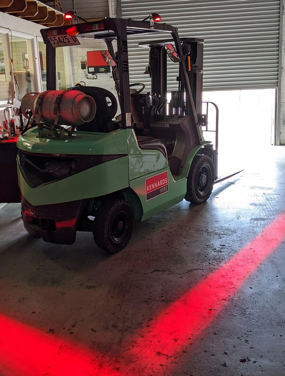 Safety Halo System Kennards Hire Forklift Ultimate LED