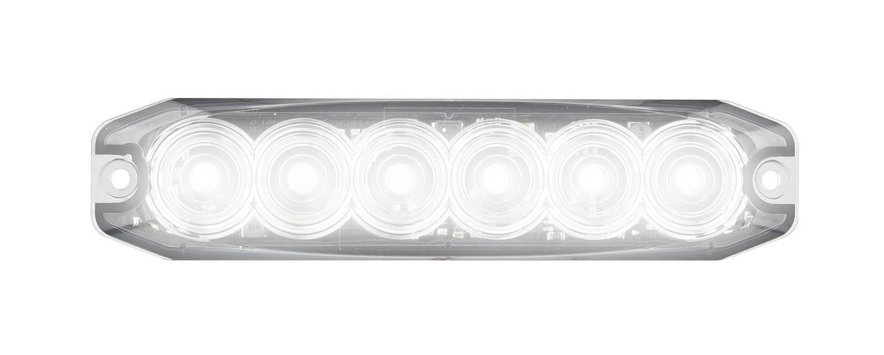 120035WM - Emergency Lamp Strobe White Clear Lens Multi-volt Single Pack. AL. Ultimate LED.