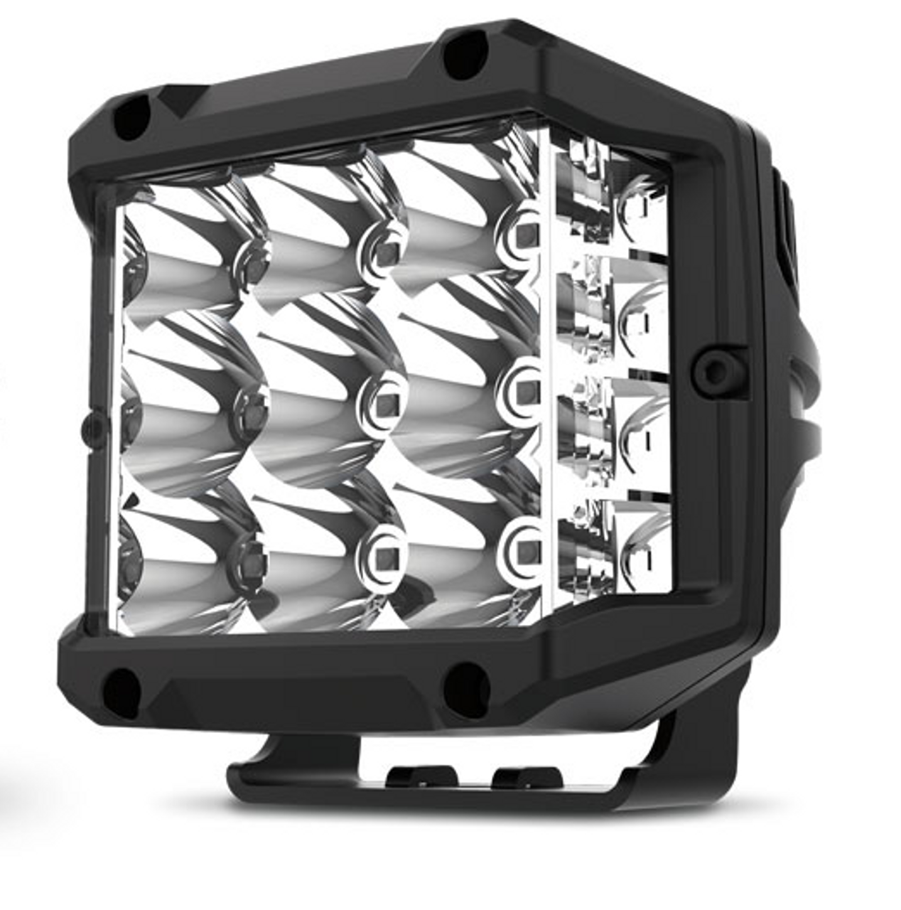 RWL7955C - Square Sidewinder LED Flood Beam Work Light. 55 Watt. Multi-Volt 10v & 30 Volt DC. 5 Year Warranty. Combination Beam 55 watts, 4500Lm. Great Work Light. RoadVision. Ultimate LED.