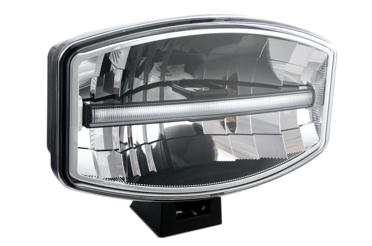 DL245 - Oval Driving Lamp. Driving, Front Position Light. Road Approved. 5 Year Warranty. Twin Pack. Multi-Volt 12v & 24v. Autolamp. Ultimate LED.