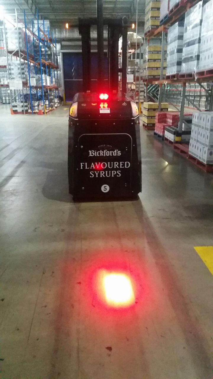 Red Workplace Awareness Light System