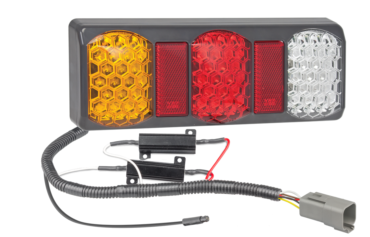 SO275GARWM2LR450+PATCH-XCLASSEXT - Tray Extension X-Class LED Patch Cable System. Plug and Play. LED Upgrade. Designed for Trays. 275G Series Light. Stop, Tail, Indicator and Reverse. 12v Only. Lamp with Conversion Cable. Application to Suit Mercedes-Benz X-Class with Tray Extension. Autolamp. Ultimate LED.