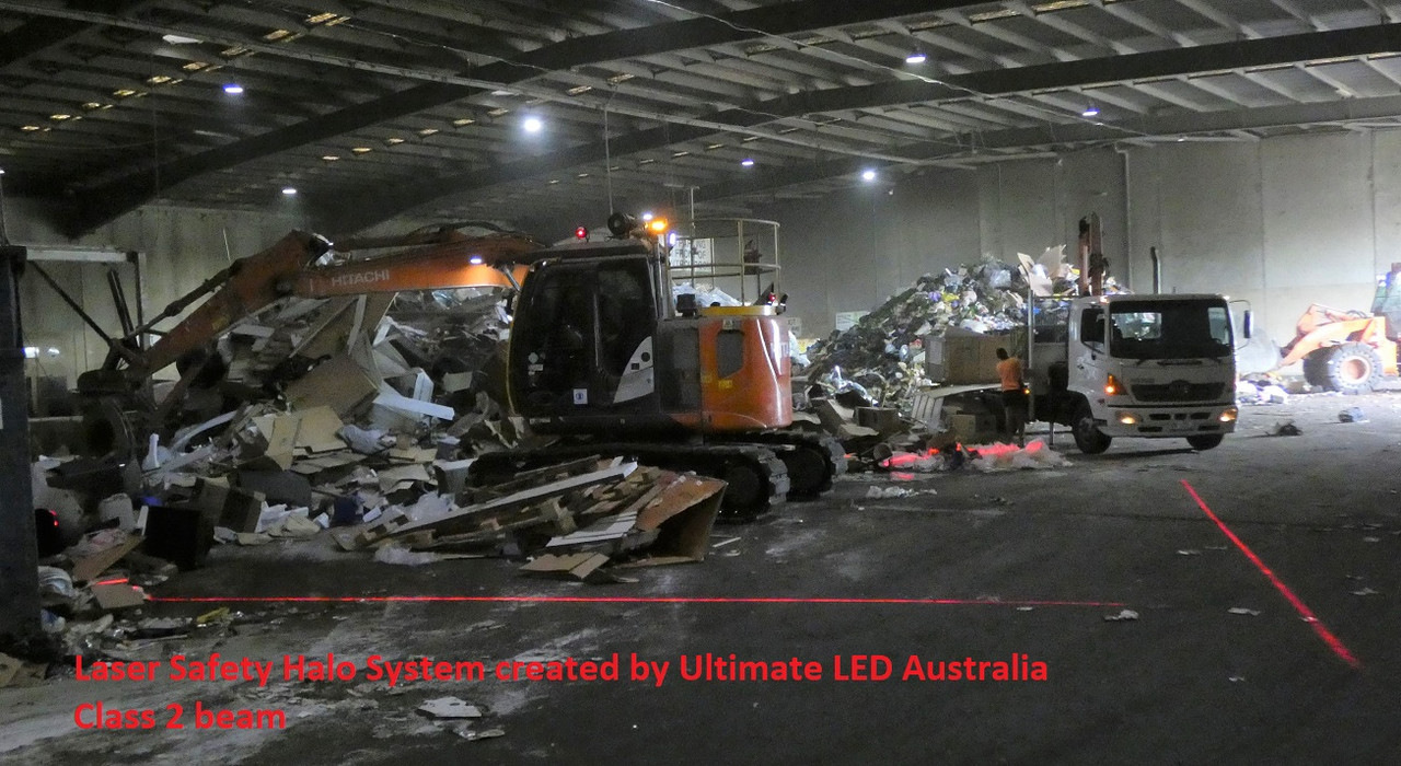 Laser Beam Class 2 Safety Halo System Created by Ultimate LED Australia
