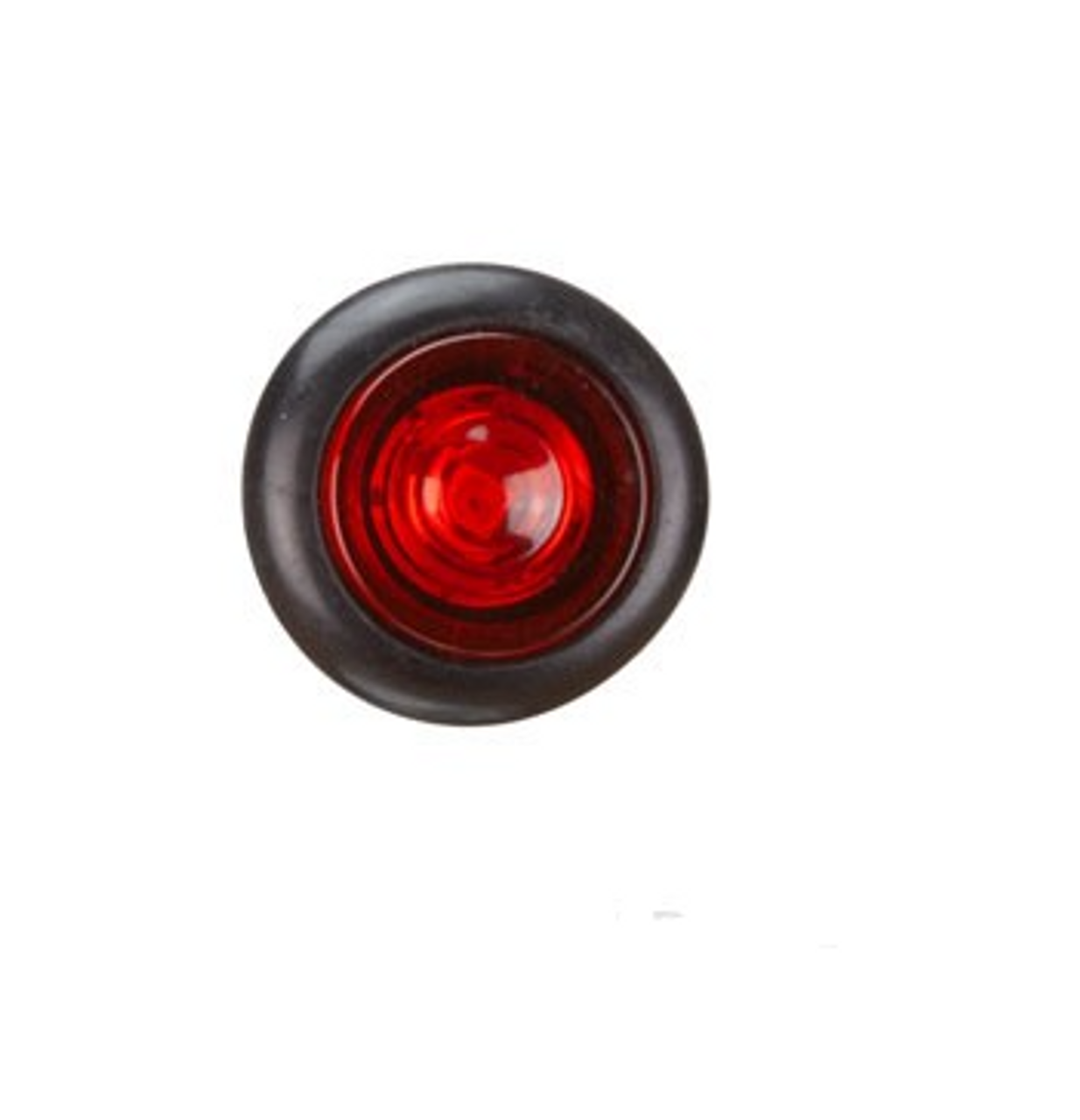 BR11R - Clearance Light LED Red. BR11 Series. 10-30V. Flush Rubber Mount. Small Round Light. RoadVision. Ultimate LED.