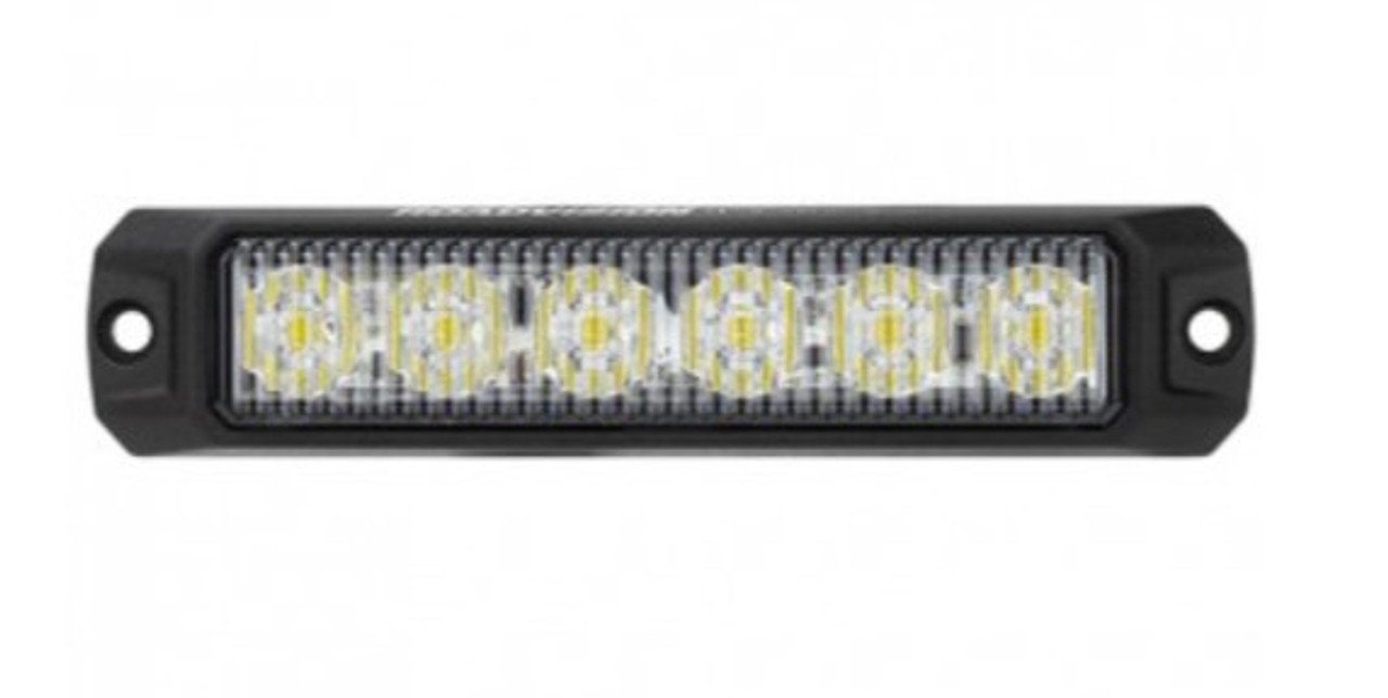 RSM5476W - LED Strobe Module White. Surface Mount. 18W. 12 Flash Pattern. Class 1. Synchronizable. RoadVision. Ultimate LED.