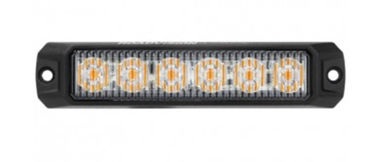 RSM5476A - LED Strobe Module Amber. Surface Mount. 18W. 12 Flash Pattern. Class 1. Synchronizable. RoadVision. Ultimate LED.