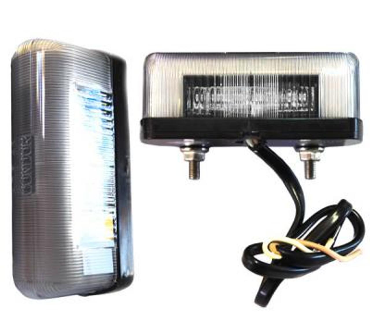 Brytec BR25C Silver Number Plate LED light