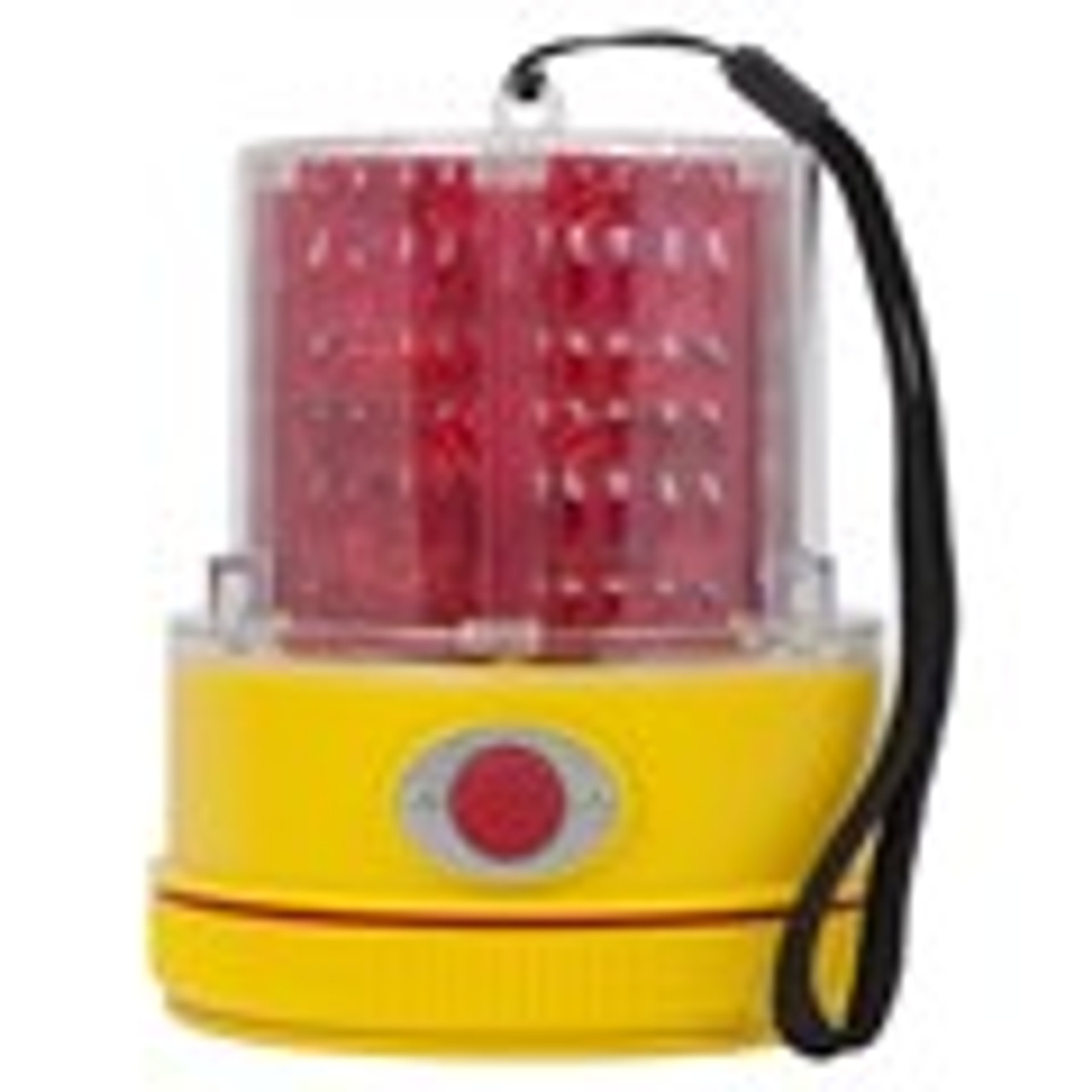 98rv18 740r Peterson Usa Red Led Strobe Beacon Battery Operated Magnetic Mount Red Lens 740r Ultimate Led