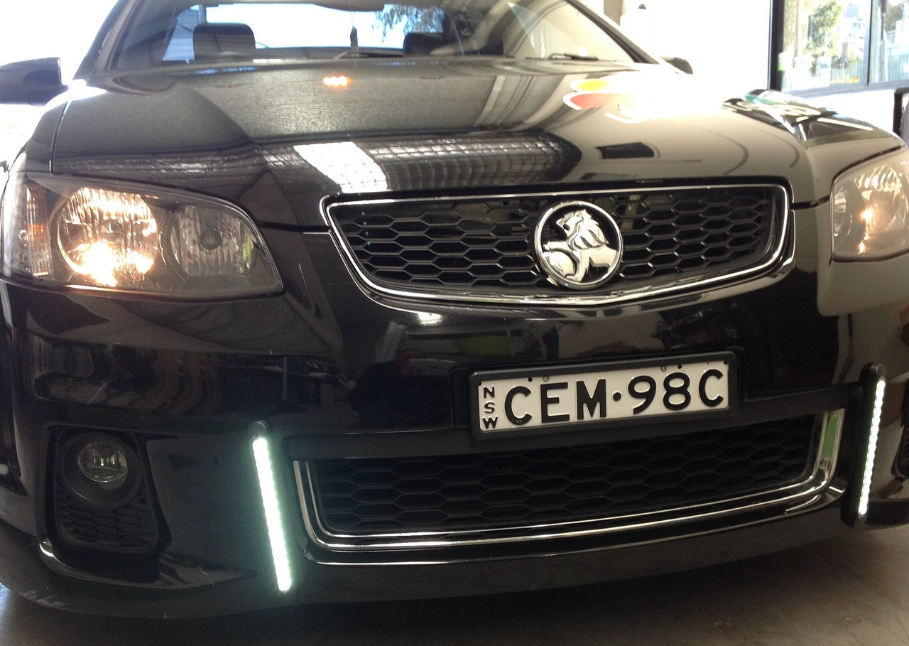 New Slimline Reverse Lights Fitted for Daytime Running Lights. Ultimate LED