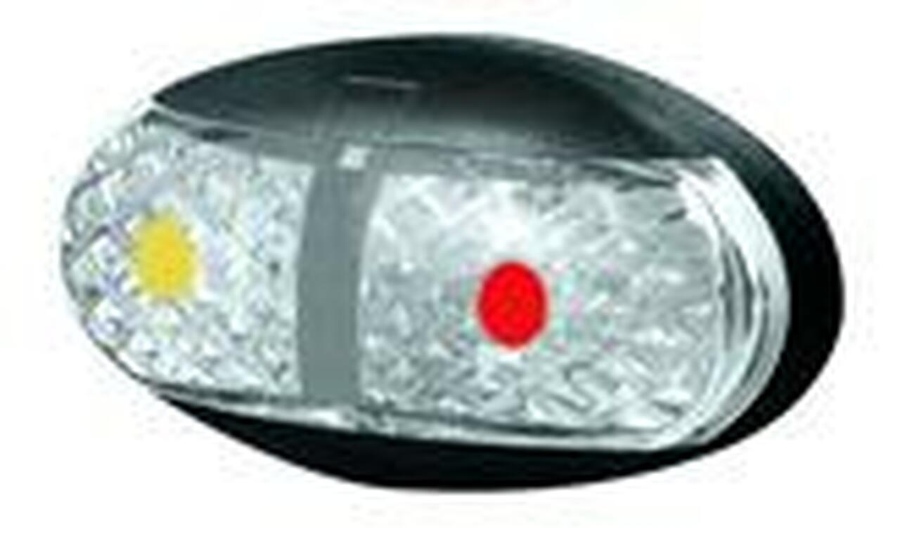 Slim Side Marker, Clearance Light BR1AR Series Amber, Red