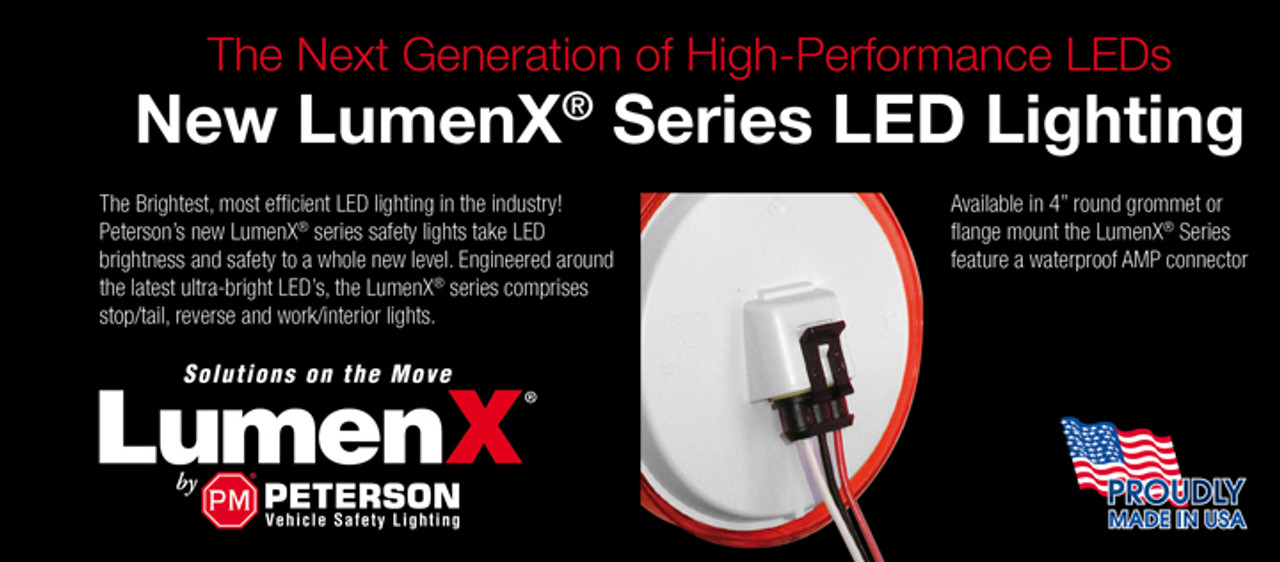 Peterson LumenX Range. Made In the USA