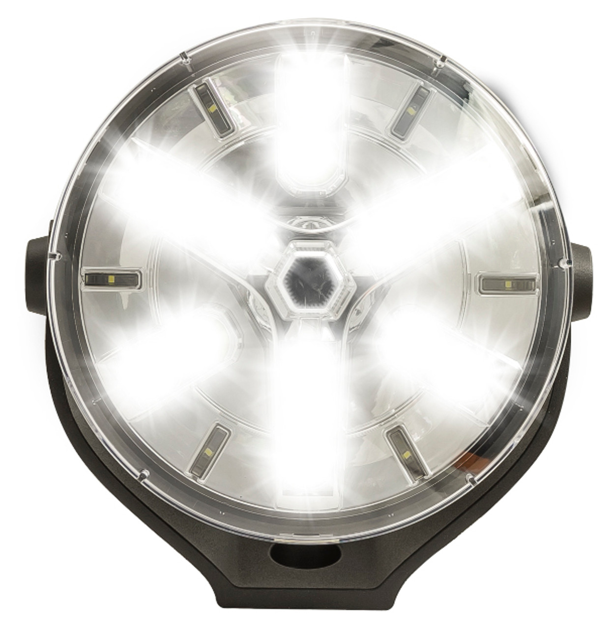 HL198 - Driving Lamp 45 Watts 7.8inch Twin Pack Multi-Volt. AL. Ultimate LED.