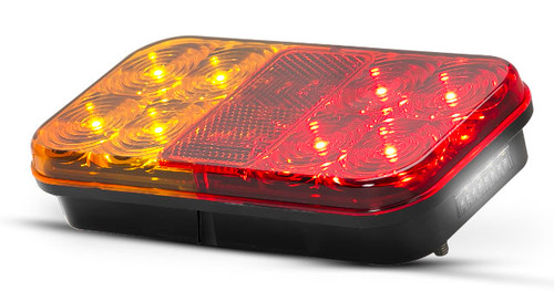 149VBARLP2 Stop, Tail, Indicator, Licence Plate Lamp with Reflector 12v Twin Pack. AL. Ultimate LED.  (Active)