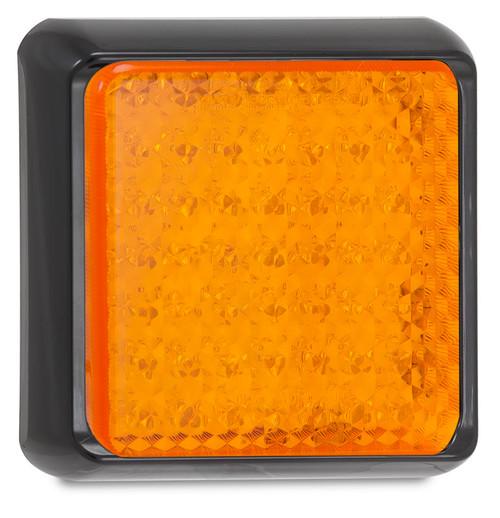100AM - Amber Indicator Light Multi-Volt 12v & 24v, Single Pack. AL. Ultimate LED.