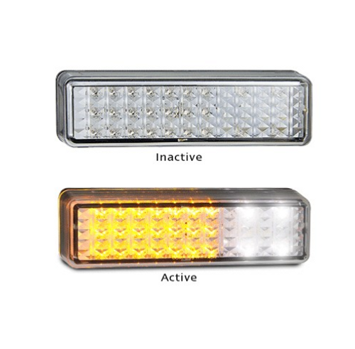 175AW2 - Front Indicator / Marker Lamp 12v Twin Pack. AL. Ultimate LED.