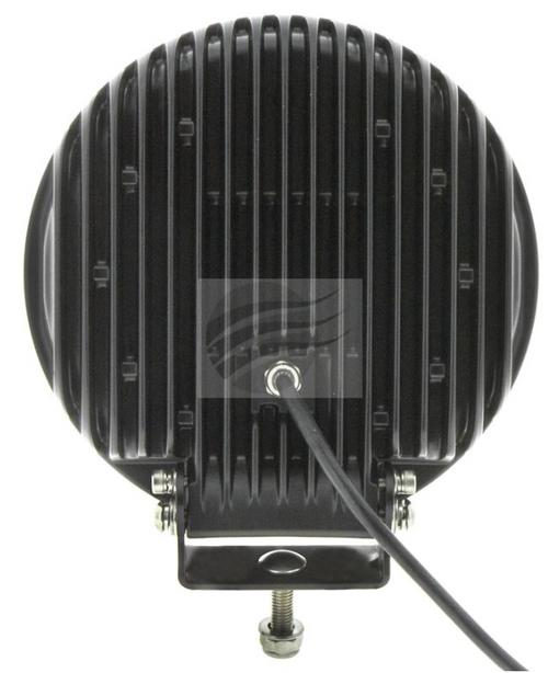 "IDL1210BRS - Spot Beam Driving Light 9"" 120 Watt. Multi-Volt Single Pack. CD. Ultimate LED."