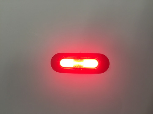 ISL90R - Red Rear End Marker Light with Zeon Technology Multi-volt Single Pack. Ignite. CD. Ultimate LED.