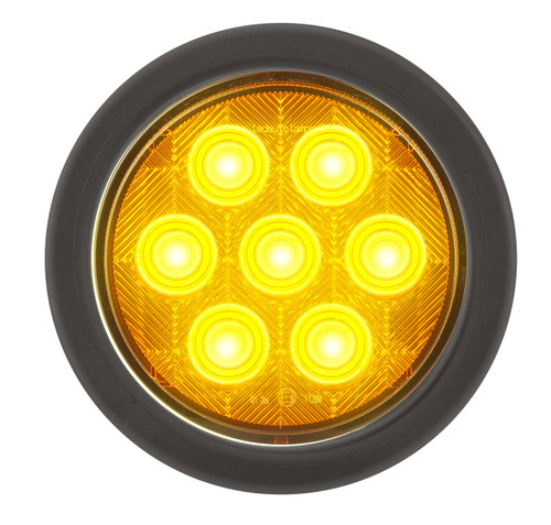 Active - 113AMG - Round Indicator Light. Multi-volt Single Pack. AL. Ultimate LED.