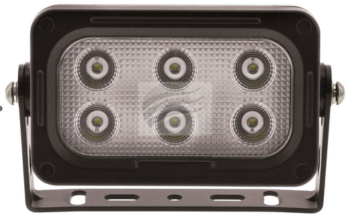 IWL605BF - Flood (Spread) Beam - Black Housing 30 Watt Multi-Volt. Ignite. CD. Ultimate LED.