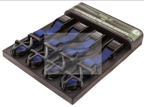 HU5101 - Cambuckle Tiedown Straps 4 Pack. HULK. CD. Ultimate LED.