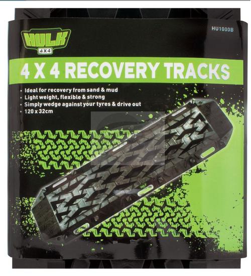 HU1000B - Nylon 4x4 Recovery Tracks. HULK. CD. ULtimate LED.